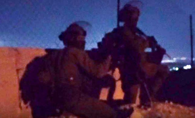צפו: סיירת חרוב בפעילות בכפר בורקין