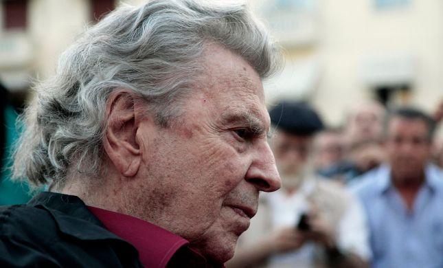 בגיל 96: המלחין היווני מיקיס תיאודורקיס מת