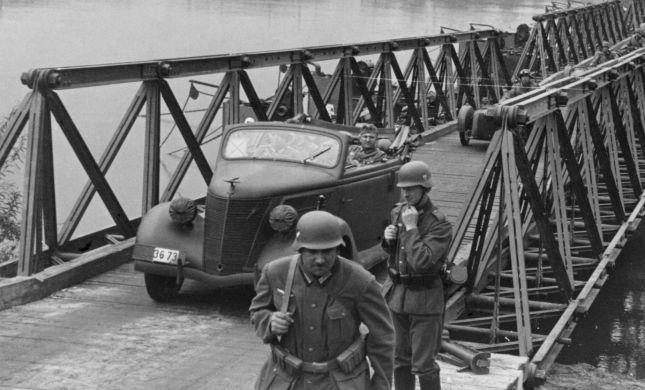 הפלישה הנאצית שהתחילה את מלחמת העולם השנייה