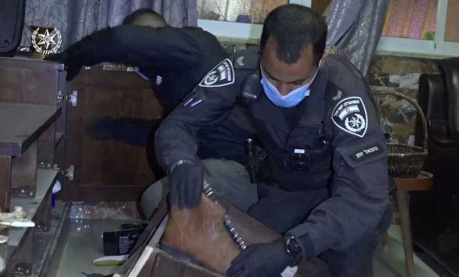 צפו: מבצע משטרתי ענק נגד הפשיעה הבדואית