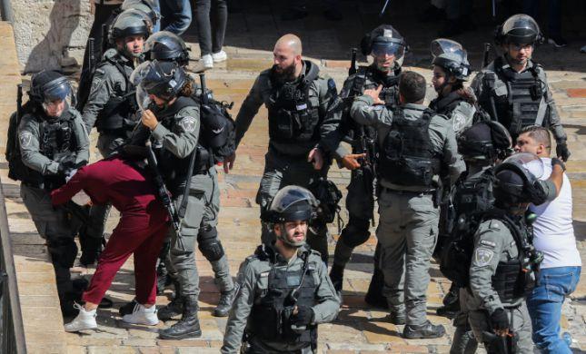 מהומות בשער שכם: אוטובוסים נרגמו באבנים