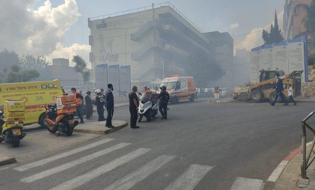 ירושלים: שריפה בגבעת שאול | הושגה שליטה