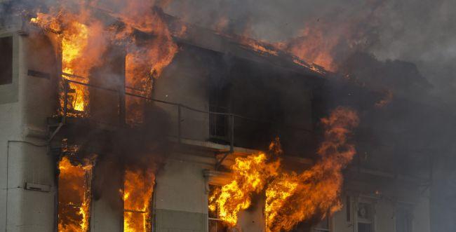 46 הרוגים בשריפת ענק בבניין בטיוואן