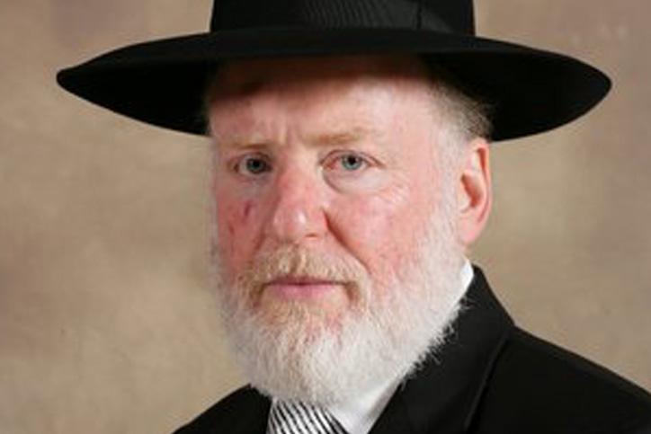 הרב בקשט (צילום: הקהילה היהודית באודסה)