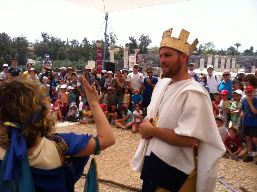 בית שאן - חגיגות העת העתיקה - אטי קוריאט אהרון (1)