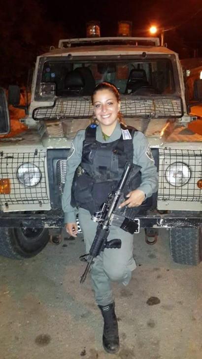 השוטרת סמר בחובה אליסון ברסן