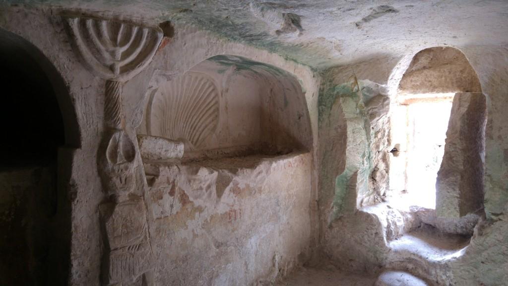 מערות המנורה - טל ניר