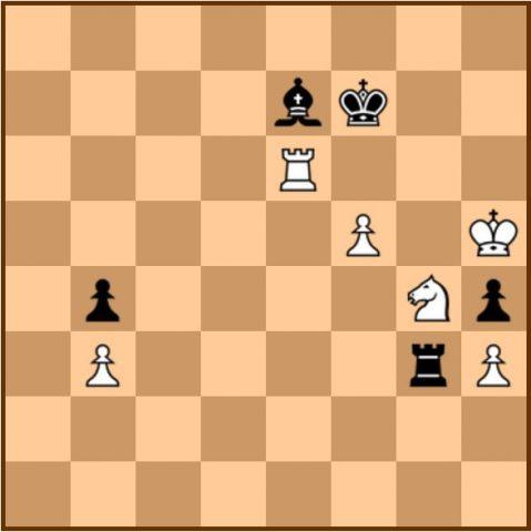 מתוך המשחק השלישי. השחור (קריאקין) במסע ה67...