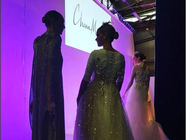 חנה מירלוס בשבוע האופנה בניו יורק (צילום מסך מתוך אינסטגרם)
