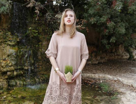 אם אתן שואלות מאיפה השמלה? רוב הבגדים שלה מהאינטרנט (צילום מתוך אינסטגרם)