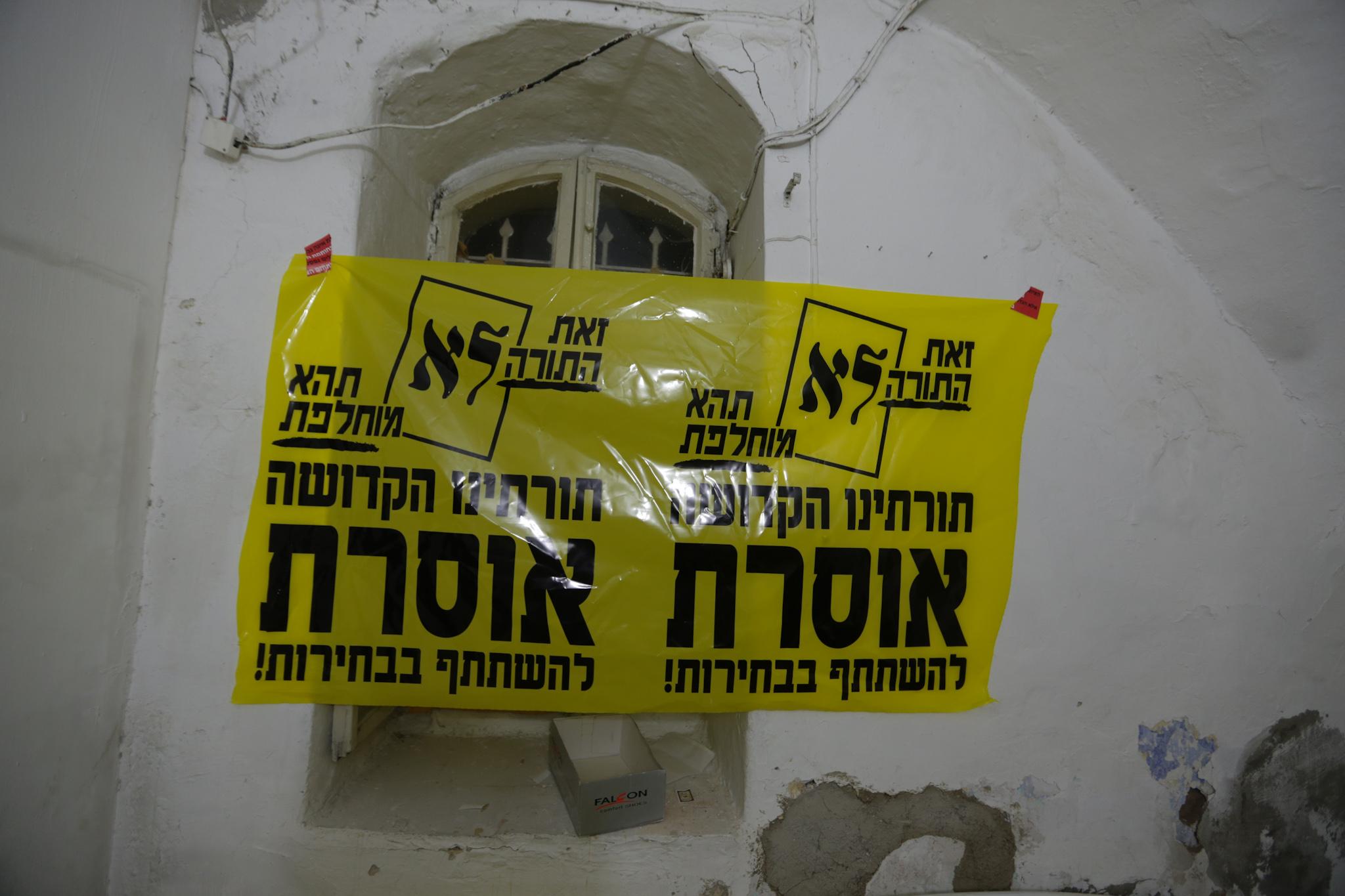 (צילום: חיים גולדברג/ כיכר השבת)