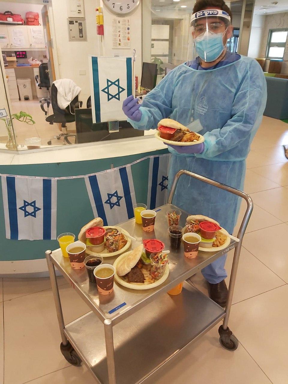 מחלקת בידוד במרכז הירושלמי לבריאות הנפש איתנים כפר שאול (צילום: דוברות משרד הבריאות)